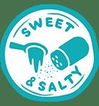 Cravewell Crisps Purple Roots Sweet Salty