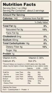 Mixed Veggie Crisps Garlic NF