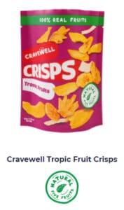 Cravewell Tropic Fruit Crisps Shop Now Image