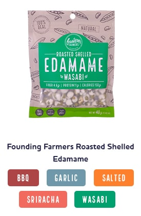 Founding Farmers Roasted Edamame Shop Image