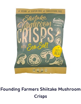 Founding Farmers Shiitake Mushroom Crisps Shop Image