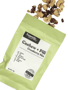 Fourtify Cashew + Pili - Cranberry Mix